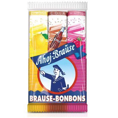 5 Packungen Ahoj-Brause Stangen ( Zitrone, Cola und Himbeere) ab 2,38€ (statt 3,45€)