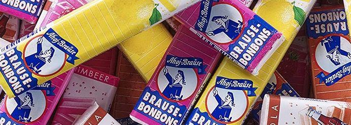 5x 3er Pack Ahoj Brause Brause Bonbon Stangen (je Zitrone, Cola, Himbeere) für 2,21€   Prime