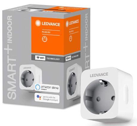 4er Pack Ledvance Smart+ WiFi Steckdosen mit Strommessung für 27,10€ (statt 54€)