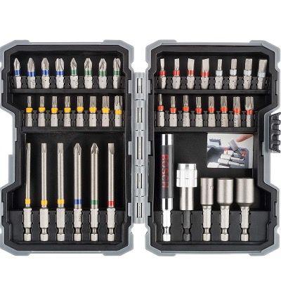 Bosch Professional 43eilige Schrauberbits und Steckschlüssel Set für 17,96€ (statt 32€) – Prime