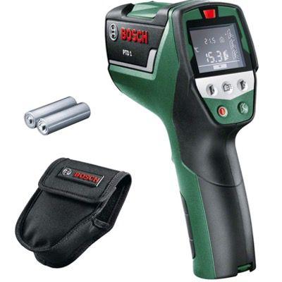 Bosch Infrarot Thermometer PTD1 inkl. Batterien und Schutztasche für 76,99€ (statt 94€)