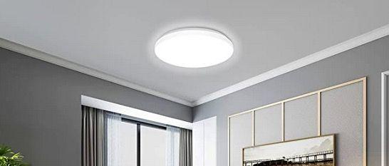 Etersky Smart LED Deckenleuchte 2000LM 24W RGBW IP54 mit Alexa & Google für 34,99€ (statt 50€)