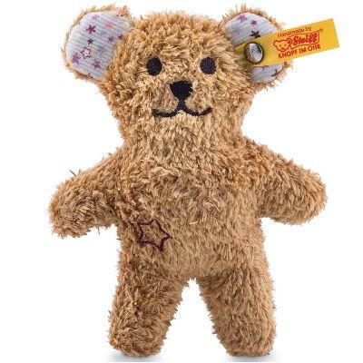 Steiff Mini Knister-Teddybär mit Rassel 11cm 240669 in Braun für 10,72€ (statt 17€)
