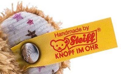 Steiff Mini Knister Teddybär mit Rassel 11cm 240669 in Braun für 10,72€ (statt 17€)