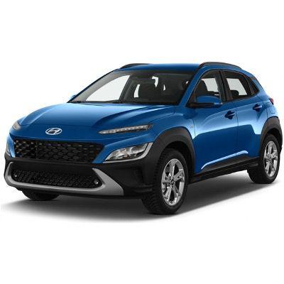 Privat: Hyundai KONA Select Elektro mit 136PS für 124€ mtl. – LF 0,45