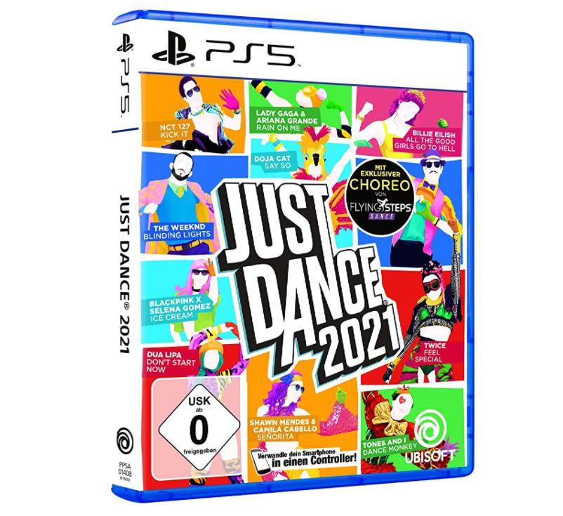 Just Dance 2021 (PS5) für 27,89€ (statt 34€)