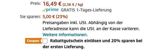 Whiskas 1+ Adult Huhn im 7kg Sack ab 11,54€ (statt 20€)   Prime Sparabo