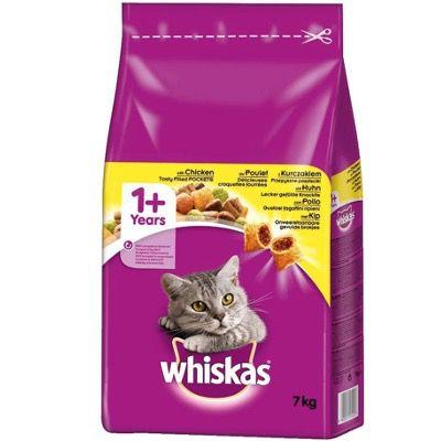 Whiskas 1+ Adult Huhn im 7kg Sack ab 11,54€ (statt 20€) – Prime Sparabo