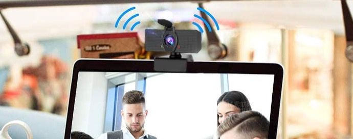 Walkbee Webcam mit digitalem Mikrofon und 1080P HD für 13,49€ (statt 27€)