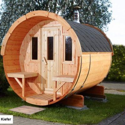 Wolff Finnhaus Saunafass 250 naturbelassen als Bausatz für 3.843€ (statt 4.674€)
