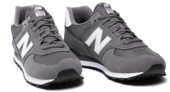 New Balance ML574 Sneaker in Grau für 66€ (statt 74€)