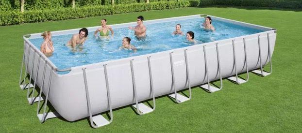 Bestway Power Steel Frame Pool 732x366x132cm mit Sandfilteranlage für 969,84€ (statt 1.579€)