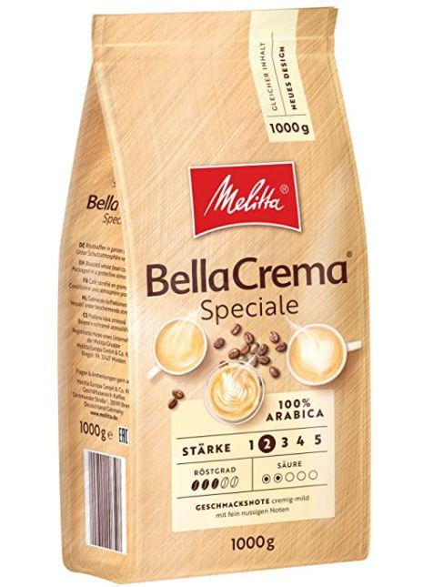 1kg Melitta Ganze Kaffeebohnen 100% Arabica milder Geschmack ab 8,99€ (statt 12€)   Prime