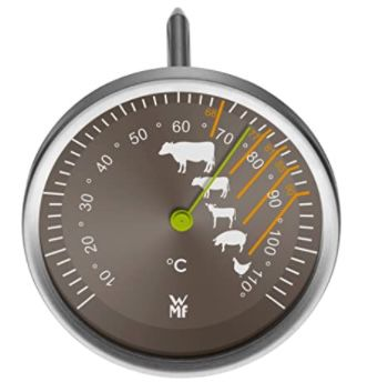 WMF Bräter mit Glasdeckel 8,5 L inkl. Thermometer für 67,94€ (statt 84€)