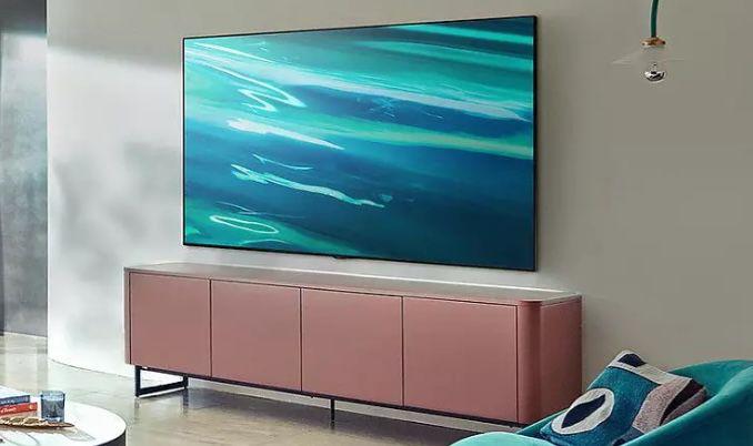 Samsung GQ65Q80A   65 Zoll QLED UHD Fernseher für 1.389€ (statt 1.544€)