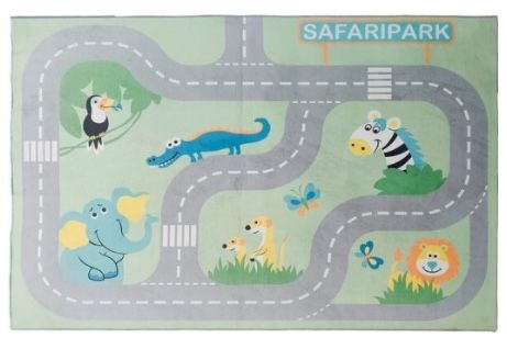 Lüttenhütt Straßen Spielteppich Safari für 28,58€ (statt 73€?)