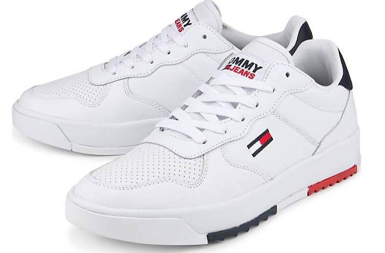 Tommy Jeans Leder Sneaker für 63,94€ (statt 100€)
