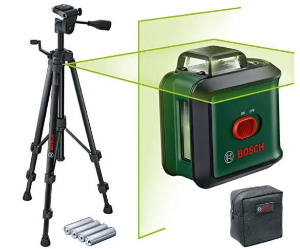 Bosch UniversalLevel 360 TT150 Kreuzlinienlaser inkl. Stativ für 105,99€ (statt 141€)