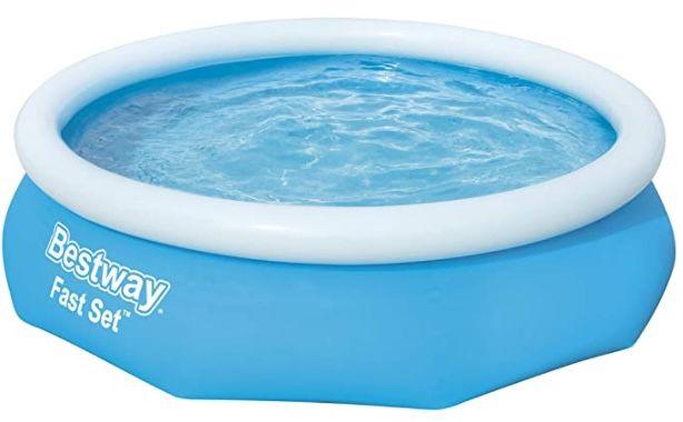 Bestway Fast Set Pool Set 305 x 76 cm mit Filterpumpe für 45,99€ (statt 65€)