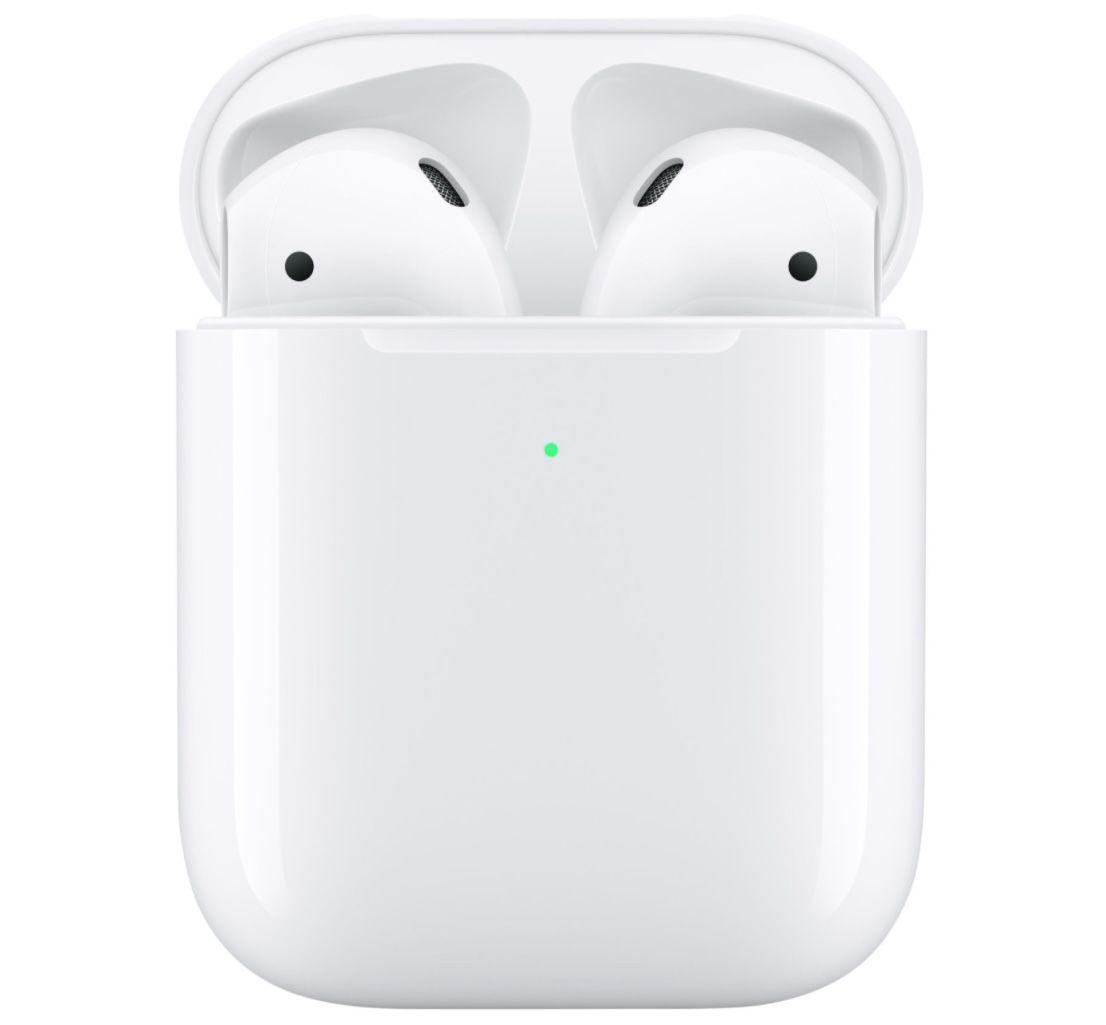 Apple AirPods (2. Gen) mit kabellosem Ladecase für 129€(statt 156€)