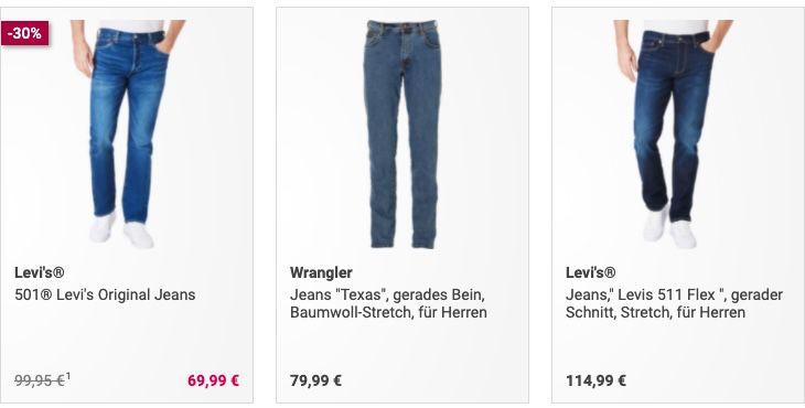25% Rabatt auf Jeans (auch Shorts)   z.B. Dunmore Jeans Bermuda für 22,49€ (statt 33€)