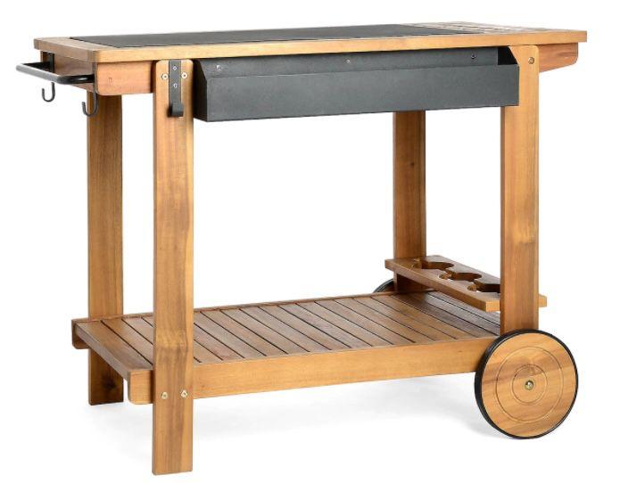 Depot: 13% Rabatt auf Balkon & Garten   z.B. Servierwagen aus Akazienholz für 129,63€(statt 149€)