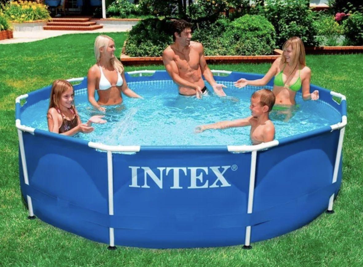 Intex Metal Frame Pool 366x76cm für 99,99€ (statt 149€)