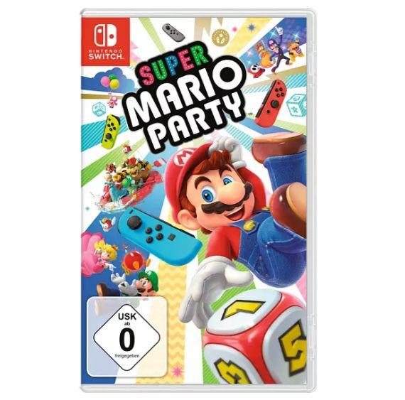 2er Set Nintendo Switch Joy Con Controller + Super Mario Party für 90,49€ (statt 114€)