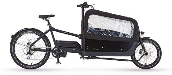 Prophete Cargo Plus 20.ETL.10 20 E Lastenrad mit Kindertransport für 3.284€ (statt 3.665€)