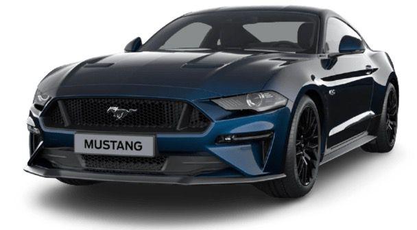 Ford Mustang 5.0 Ti VCT V8 GT mit 449PS und 10 Gang Automatik für 349€ mtl.   LF 0,74