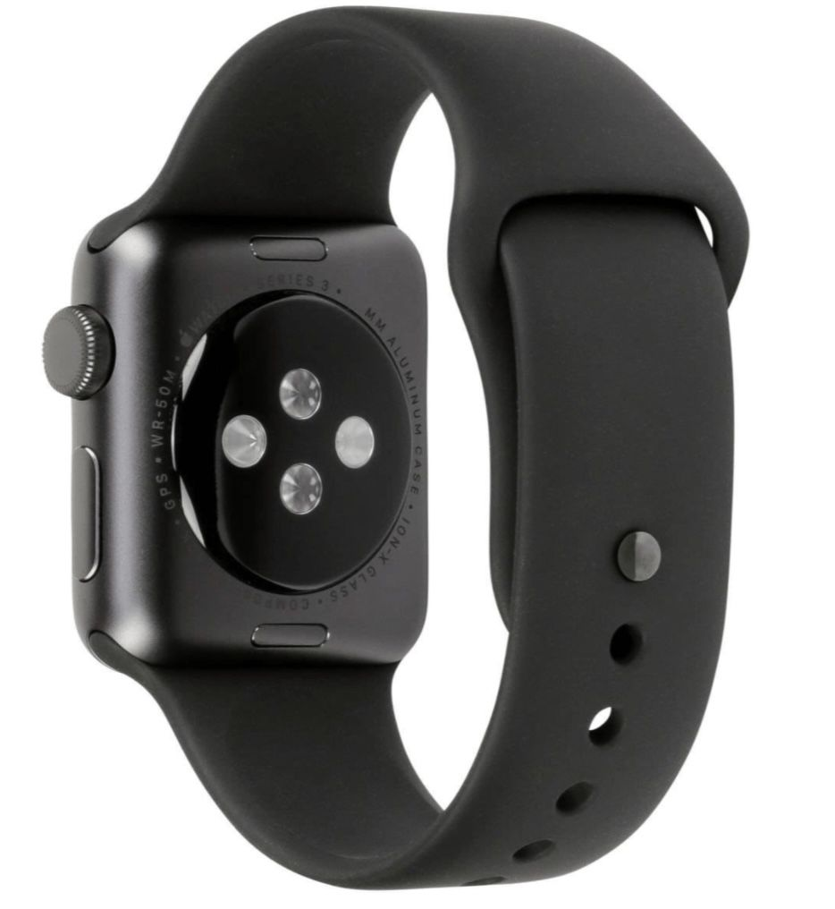 Apple Watch Series 3 GPS in Space Grey 42mm für 190,61€ (statt 220€)