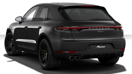 Porsche Macan als Benziner in Schwarz mit 245PS für 599€ mtl.   LF 0,94