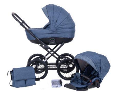 knorr baby Kreta Kombikinderwagen 9 teilig für 450,79€ (statt 599€)