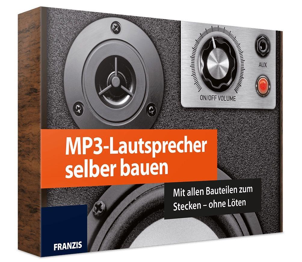 Franzis MP3 Lautsprecher selber bauen (ohne Löten) für 15€ (statt 30€)