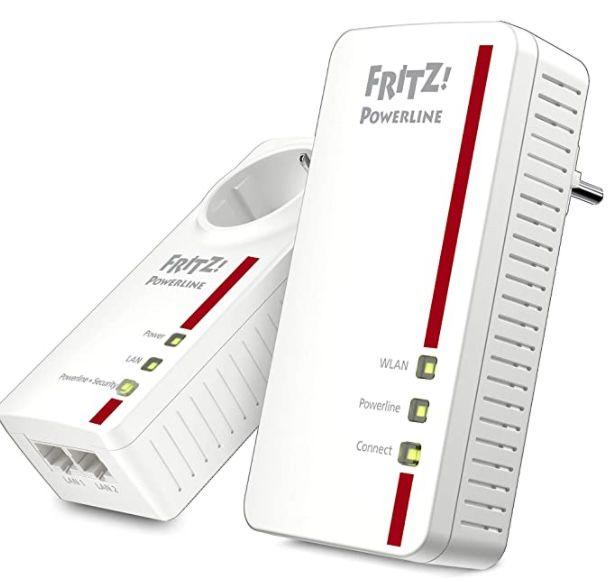 AVM FRITZ! Powerline 1260E Powerline Adapter mit WLAN für 112,99€ (statt 138€)