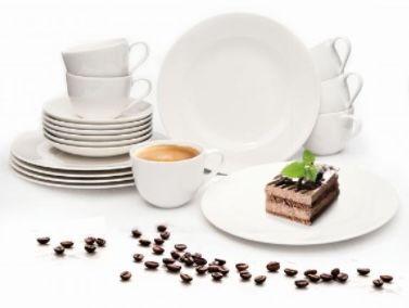 Dank Abo: Villeroy und Boch Kaffee Set 18 tlg. aus Porzellan für 43,20€ (statt 66€)