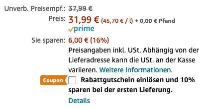 Talisker 10 Jahre Single Malt Scotch Whisky 700ml für 25,59€ (statt 32€)   Prime Sparabo