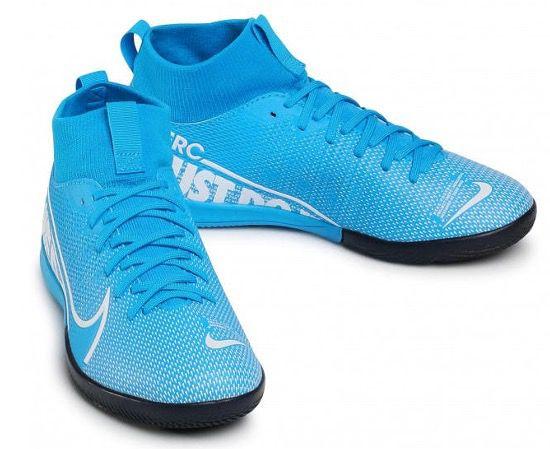 Nike Kinder Fußballschuh Mercurial Superfly 7 Academy IC Blau für 20,09€ (statt 47€)