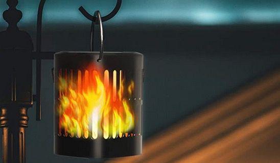 2x TEQStone LED Solarleuchte mit Flammeneffekt IP65 und je 96 LEDs für 26,59€ (statt 38€)