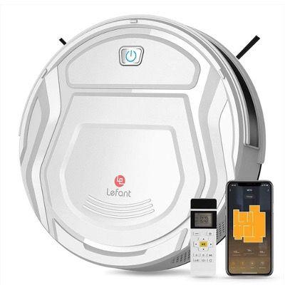 Lefant Mini Saugroboter M210 mit 2100Pa, WLAN, App und Alexa für 99,99€ (statt 220€)