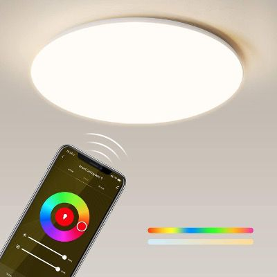 Maxcio LED RGBW Deckenleuchte 24W 35cm IP54 Alexa & Google Home 32,19€ (statt 46€)