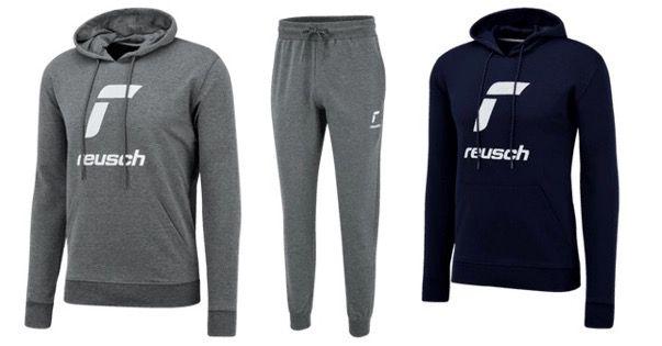 Reusch Baumwoll Jogginganzug Essentials Logo in S bis XXL für 39,95€ (statt 90€)