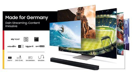 Samsung Crystal 50 Zoll UltraHD 4K Fernseher GU50AU7179UXZG für 449€ (statt 565€)