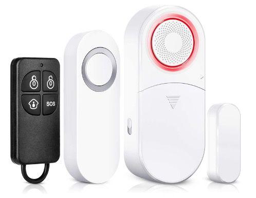 Bitiwend Türklingel inkl. Alarm Kit mit Fenster  und Tür Sensoren und 120 dB Sirene für 8,34€ (statt 13€)