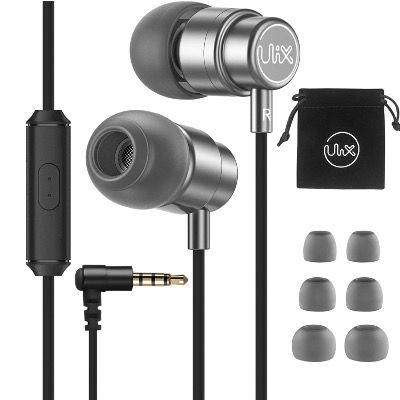 ULIX Rider In Ear Kopfhörer mit Mikrofon und satten Bässen für 4,97€ (statt 10€)