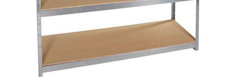 XXL Schwerlastregal mit 4 Böden (je bis 250 kg) in 180 x 160 x 60 cm ab 49,99€ (statt 70€)