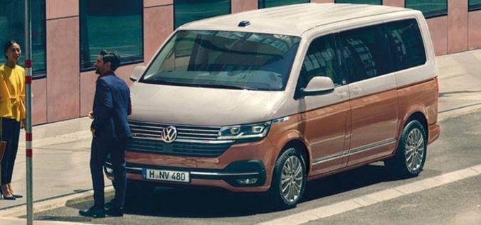 Privat: VW T6.1 Multivan Comfortline Generation SIX 2.0 TDI mit 150PS für 319€   LF 0,62