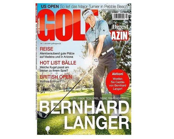 12 Ausgaben GOLFmagazin für 91€ + Prämie: 90€ BestChoice Gutschein