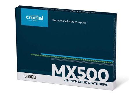 Crucial MX500   500GB interne SSD für 49,99€ (statt 56€)