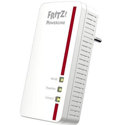 AVM FRITZ! Powerline 1260E Single Powerline Adapter mit WLAN für 69,90€ (statt 83€)
